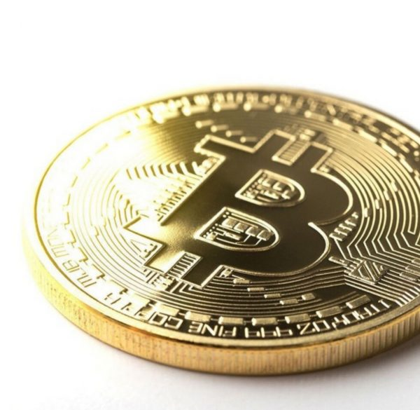 Bitcoin munt goud foto 2