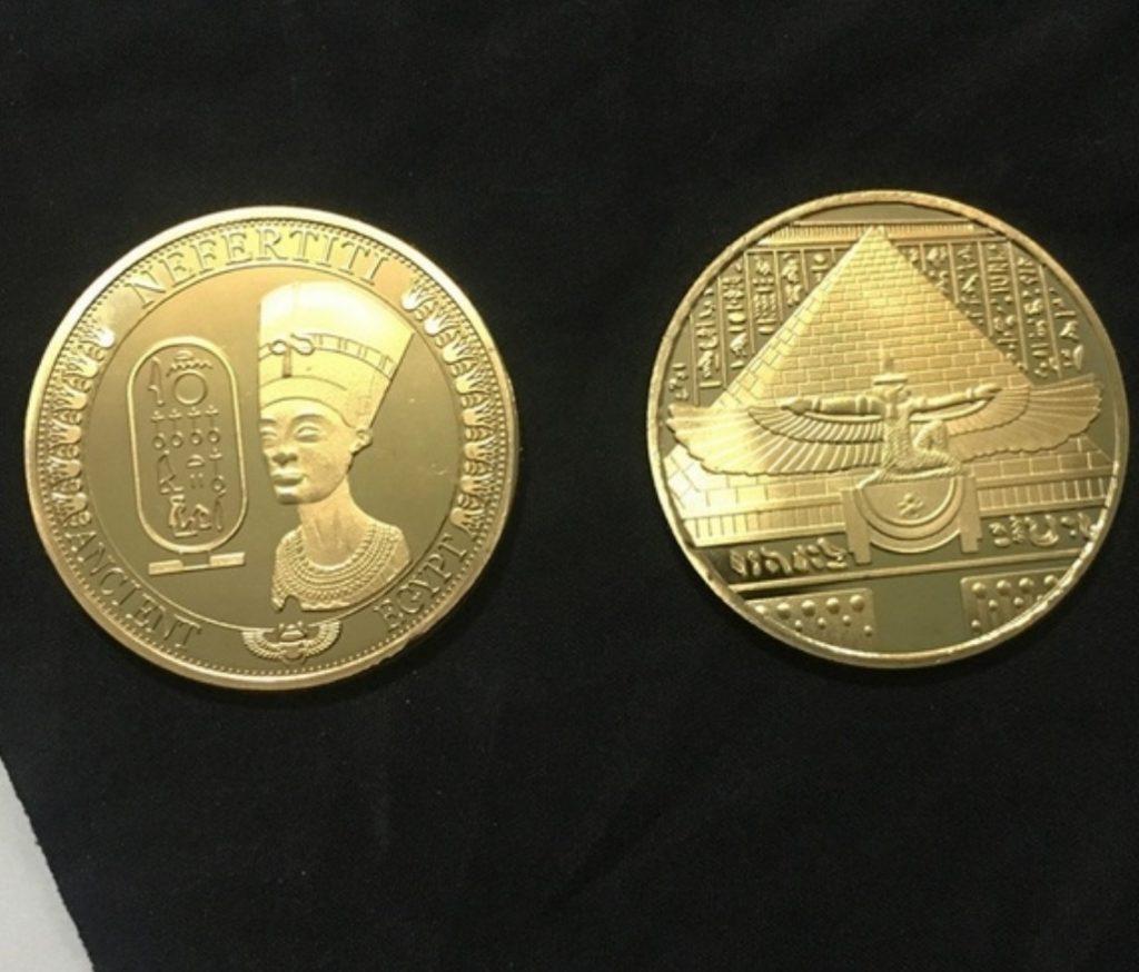 oude egyptische munt
