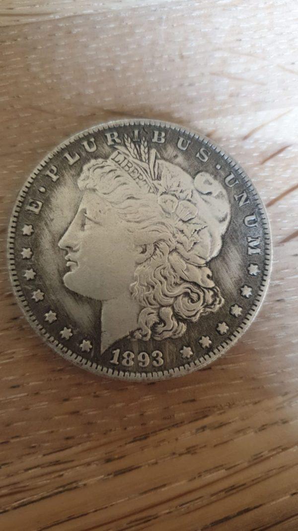 morgan dollar 1893